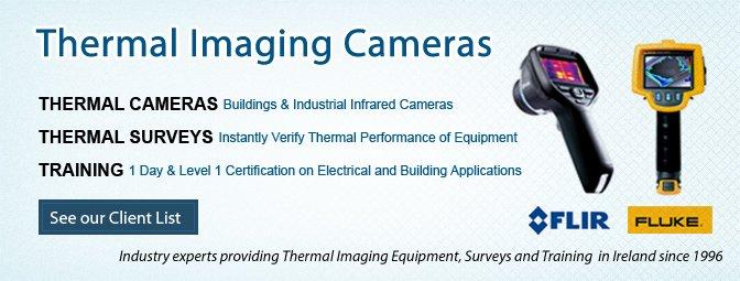 Thermal Imaging Cameras, Thermal Imaging Surveys & Training in Ireland