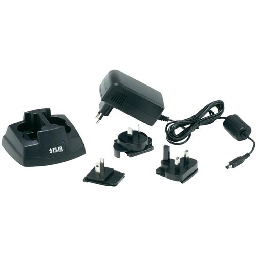 FLIR 2-bay battery charger for T/B250-335 & T4XX Series