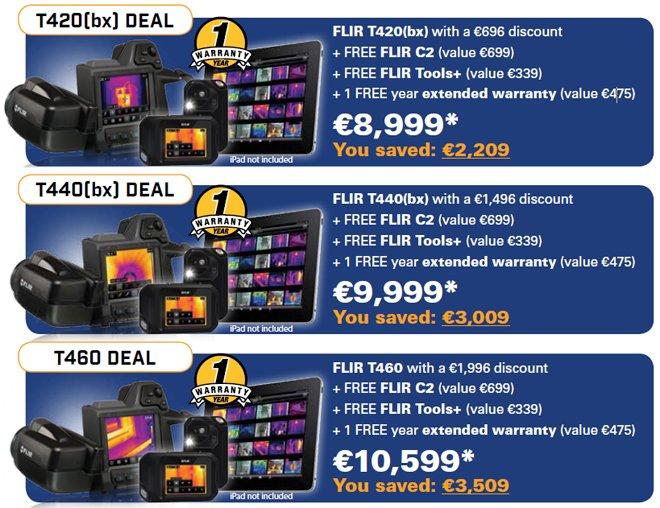 FLIR T400 Offer