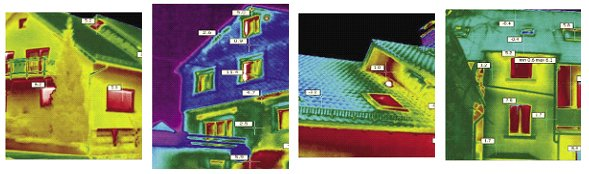 Accurately measure the temperatures in several locations with only one thermal image.
