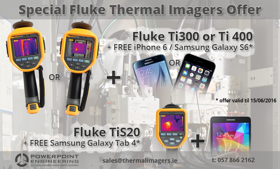 Fluke Thermal Imagers Special Offer